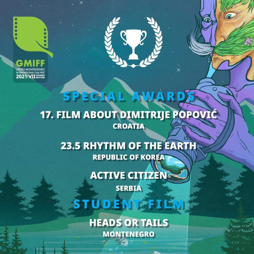 Specijalne nagrade i studentski film